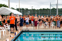 Stanton vs MHS Swim Meet-Pre-Swim 9/26/13