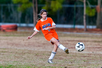 Bolles Middle School Girls Soccer 2011