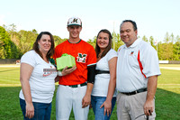 MHS Varsity Baseball Senior Night 4/8/11